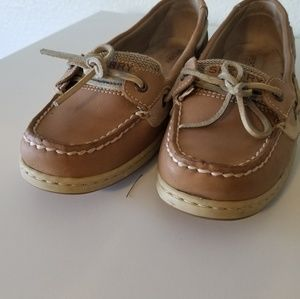 Sperry Topsiders Cute color Tan Size 8.5 M